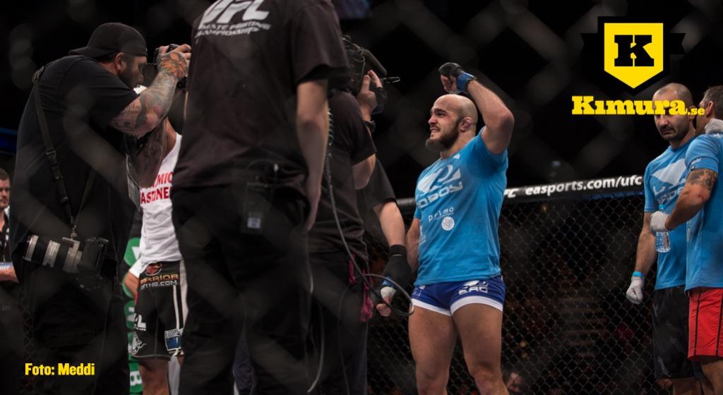 Ilir Latifi vinner vid UFC London