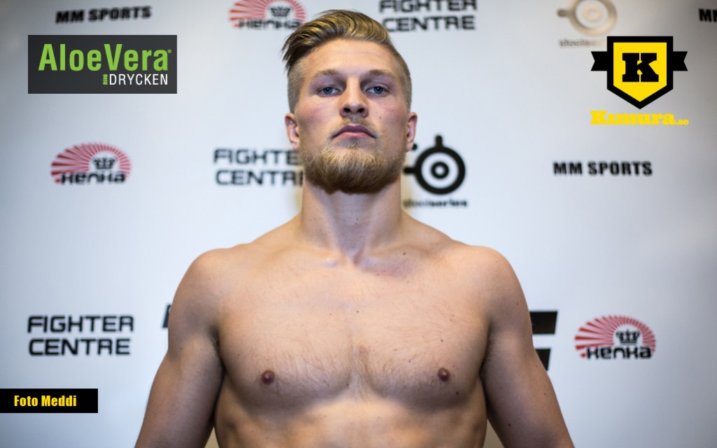 Fredrik alvarez knockad i elfte ronden