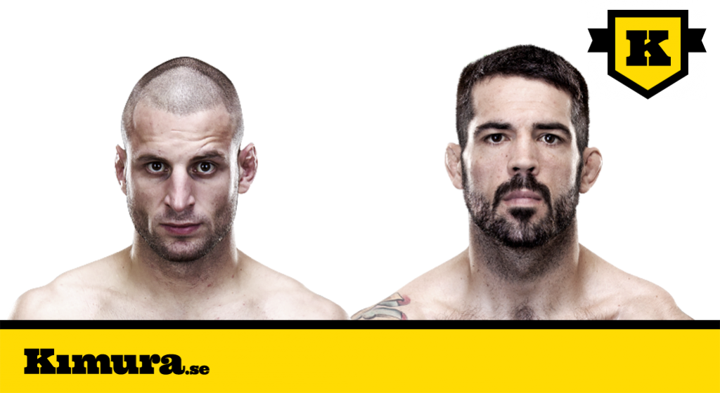 Matt Brown vs Tarec Saffiedine