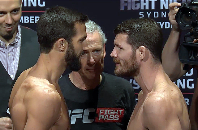 luke-rockhold-michael-bisping-ufc-fight-night-55-weigh-ins