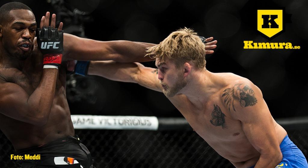 Alexander Gustafsson fightas mot Jon Jones