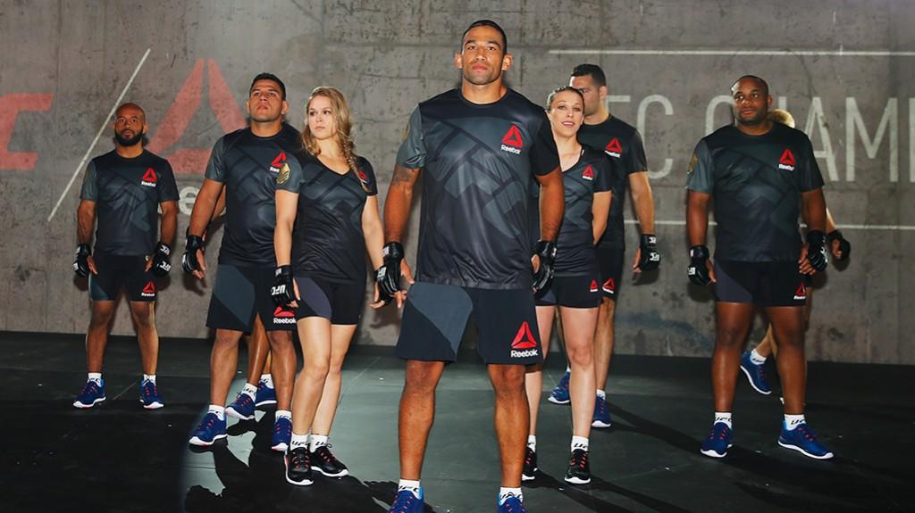 UFC Reebok Fight Kit Launch