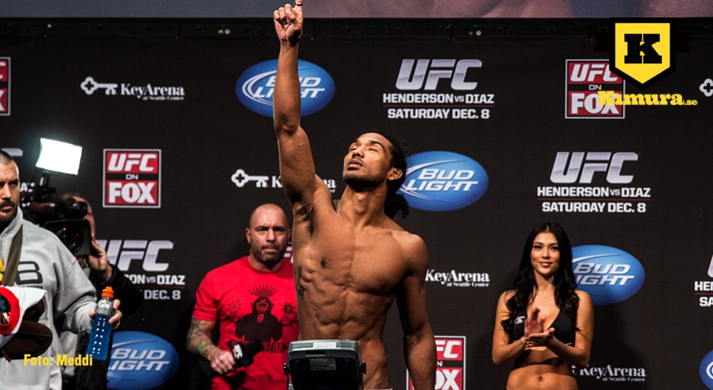 Benson Henderson made about the same amount as Reebok deal