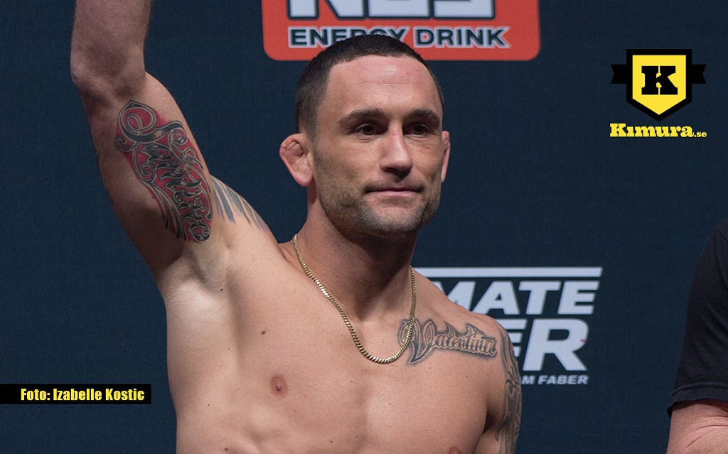 Frankie Edgar media event