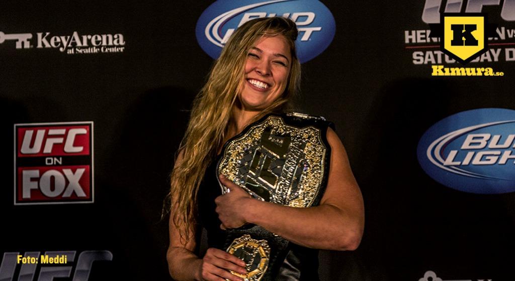 Ronda Rousey glad 1