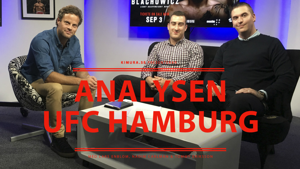 Analysen UFC Hamburg