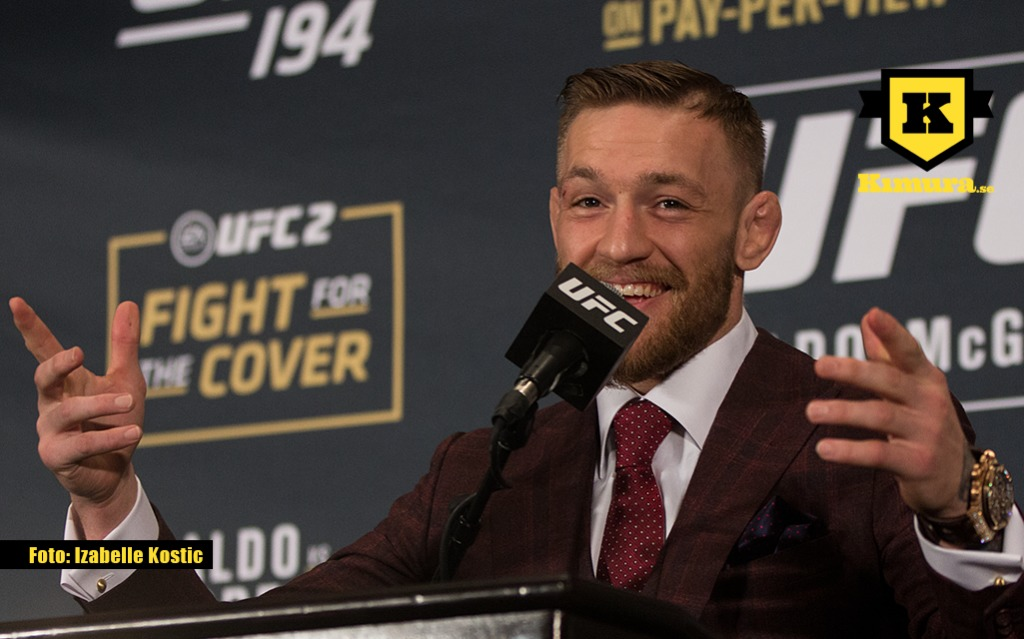 Conor McGregor UFC 60