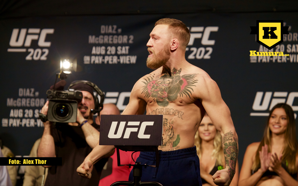 Conor McGregor Vikt UFC 202