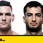 UFC 210: Chris Weidman vs. Gegard Mousasi