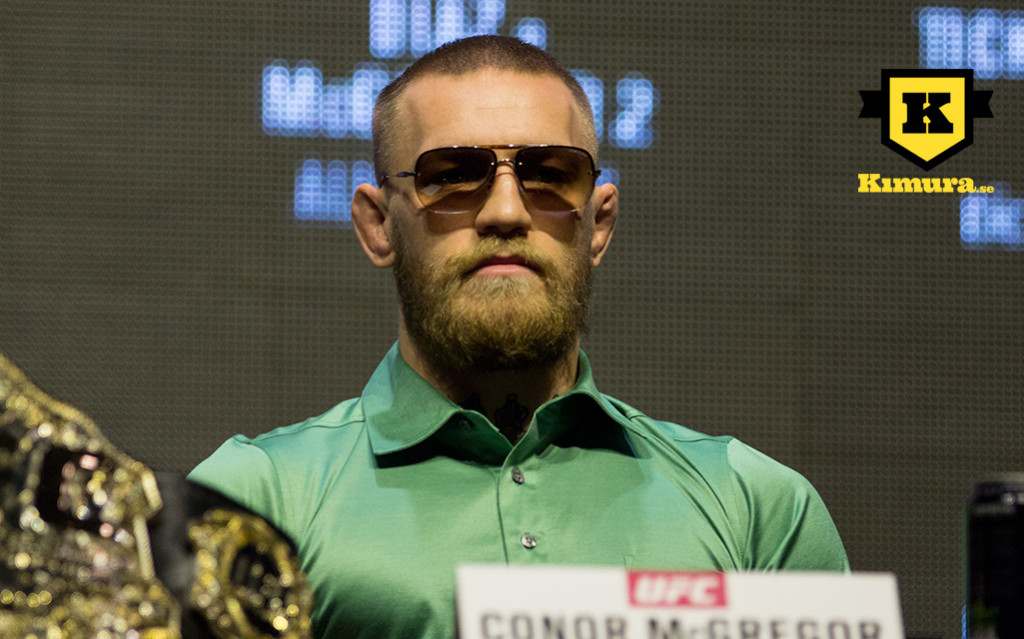 Conor McGregor UFC 1 kopia