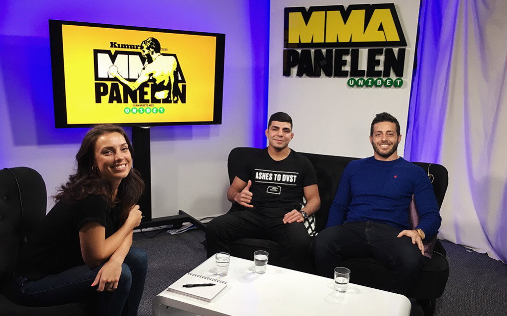 MMA Panelen Amir Albazi