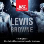 UFC Fight Night 105: Matchkort, TV-tider, odds och diskussion