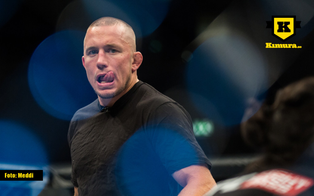 Georges St-Pierre comeback