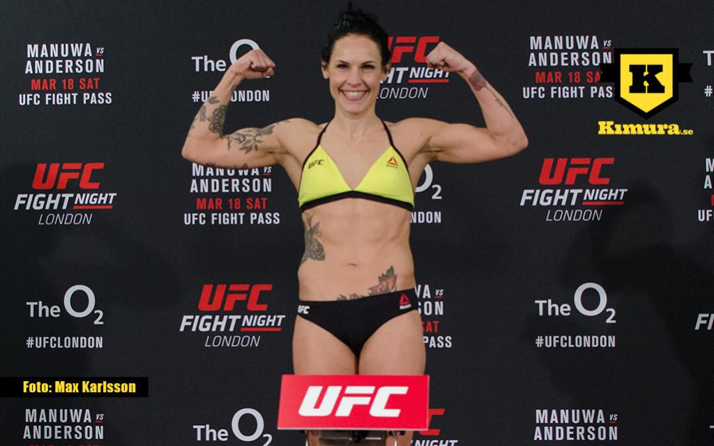 Lina Lansberg UFC London