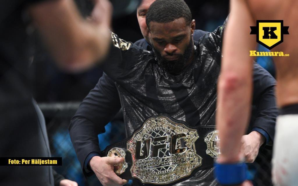 Tyron Woodley UFC belt