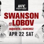 UFC Fight Night 108: Resultaten