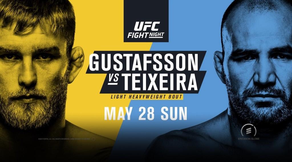 UFC-Sverige-Alexander-Gustafsson-vs-Glover-Teixeira