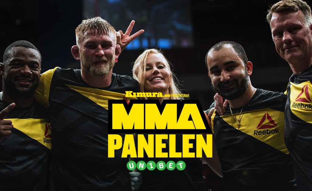 MMA-Panelen Alexander Gustafsson