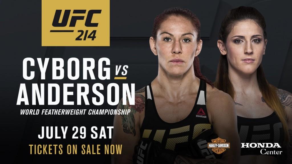 Cris Cyborg vs Megan Anderson