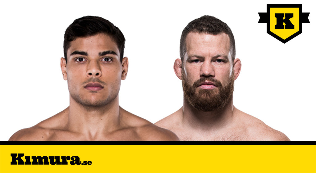 Paulo Borrachinha vs Nate Marquardt