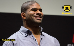 Alistair Overeem media event