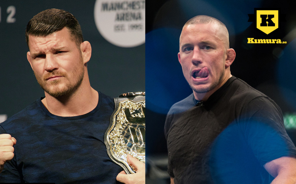 Michael Bisping vs Georges St Pierre