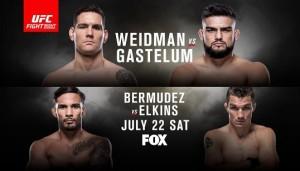 UFC on FOX 25 matchkort-tvtider-odds