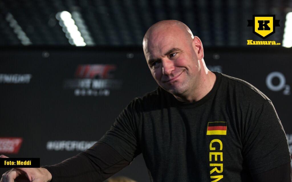 Dana White UFC 64