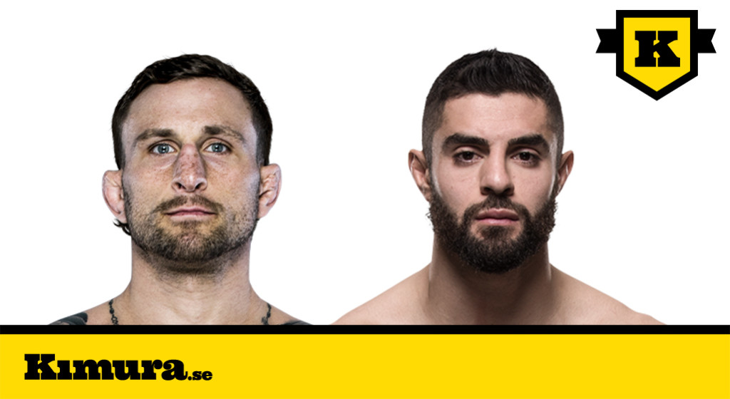 UFC Fight Night 116- Gregor Gillespie vs Jason Gonzalez