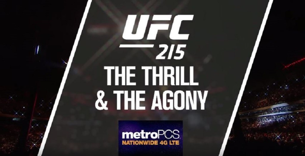 Thrill and agony ufc 215