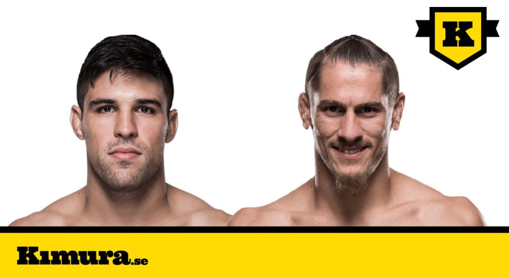 UFC Sao Paolo Vicente Luque vs Niko Price