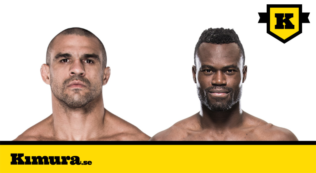 Vitor Belfort vs Uriah Hall