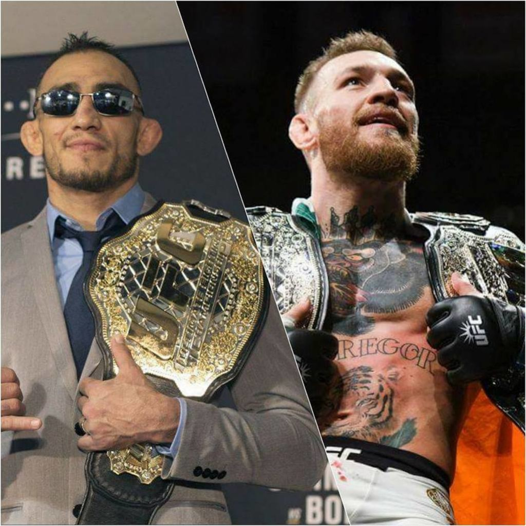 tony ferguson vs conor mcgregor