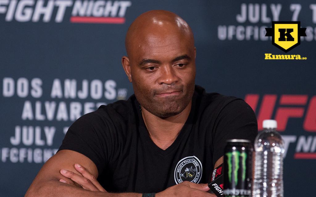 Anderson Silva kritiserar UFC