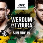 UFC Fight Night 121: Werdum vs Tybura - Matchkort, Tv-tider, Statistik, Odds