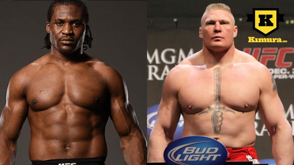Francis Ngannou vs Brock Lesnar