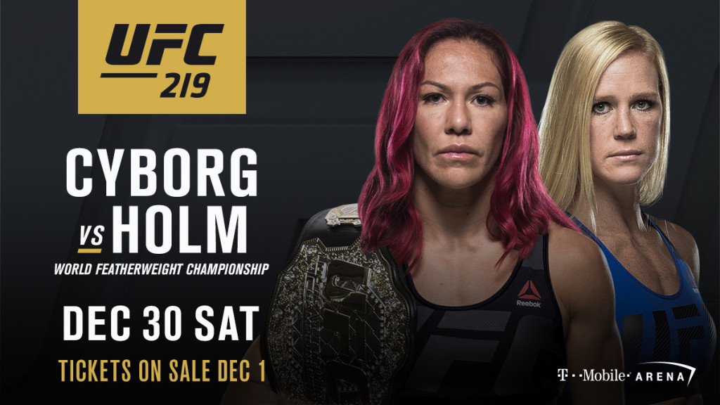 UFC 219 Holm vs. Cyborg