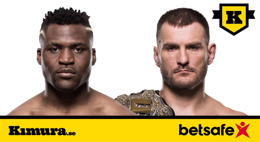 UFC 220 Francis Ngannou vs Stipe Miocic