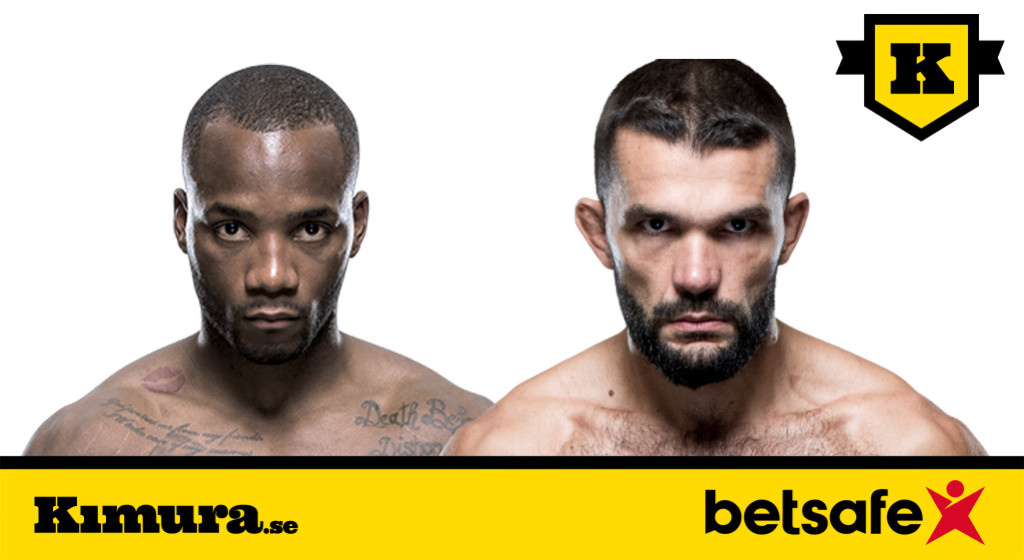 UFC London Leon Edwards vs Peter Sobbotta