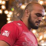 Ilir Latifi skadad - matchen mot Ovince St Preux inställd