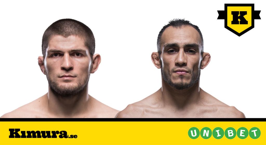 UFC 223 Khabib Nurmagomedov Tony Ferguson