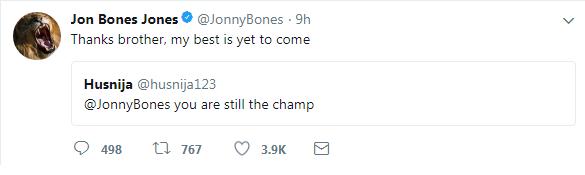 jon jones tweet