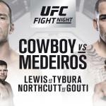 UFC Fight Night 126: Resultat och statistik
