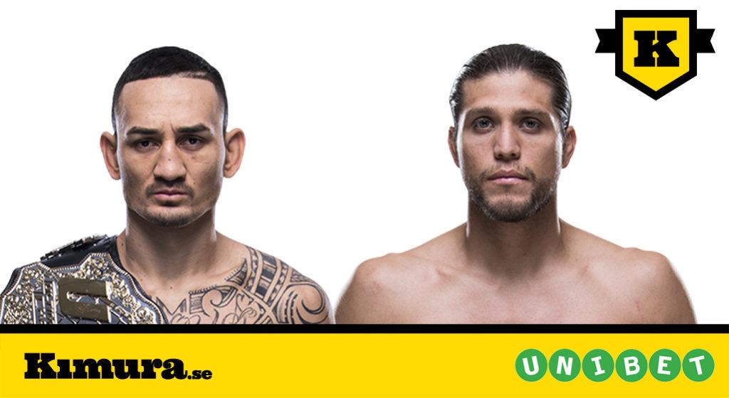 UFC 230 Max Holloway vs Brian Ortega