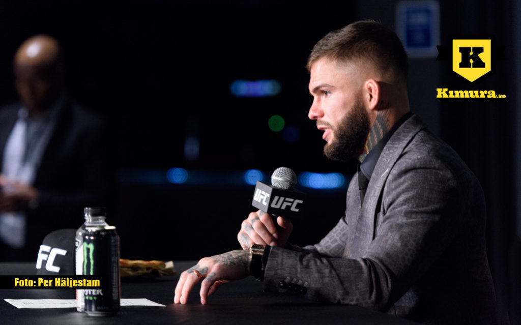 Cody garbrandt social media