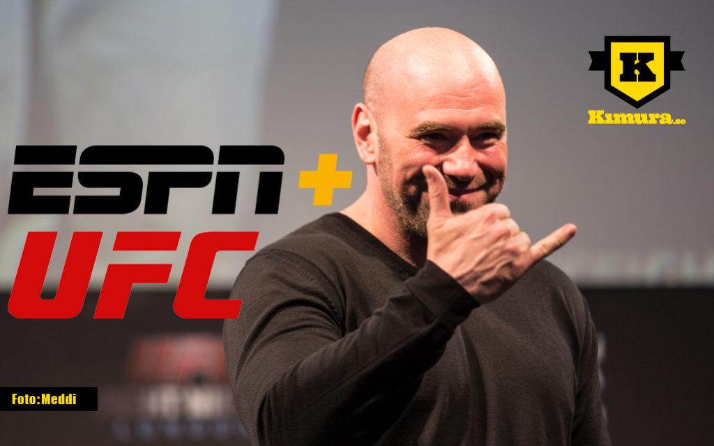 UFC och ESPN inleder sin era