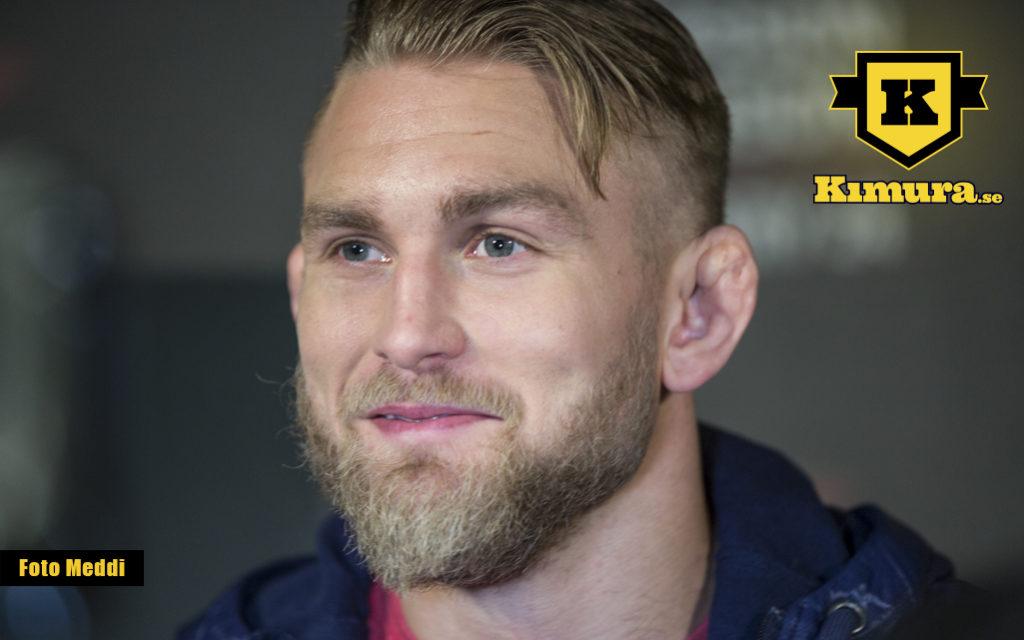 Alexander Gustafsson intervju om UFC Bälte