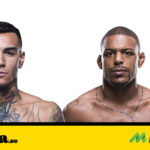 Matchen mellan Andre Fili vs Michael Johnson på UFC Fight Night Lincoln