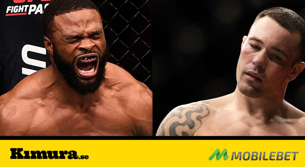 UFC 233: Tyron Woodley ryktas möta Colby Covington