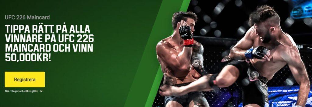 UFC 226 Unibet